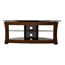 60 INCH METAL AND WOOD TV STAND CHARLES Image