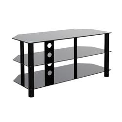 GLASS TOP METAL UP TO 50 INCH TV STAND ALEXANDER Image